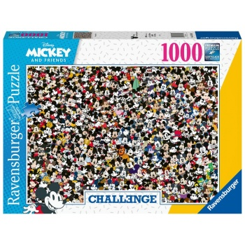 Ravensburger Challenge Puzzle - Mickey - 1000pc
