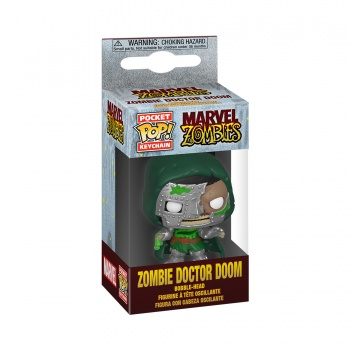Funko POP! Keychain Marvel Zombies - Dr. Doom Vinyl Figure