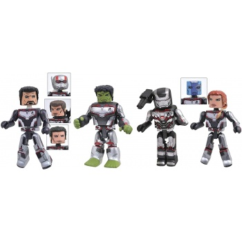 Marvel Avengers 4 Minimates Box Set