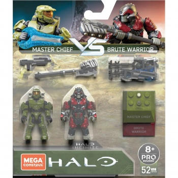 "Mattel Mega Construx ""Halo Infinite"" Master Chief vs. Brute Warrior"