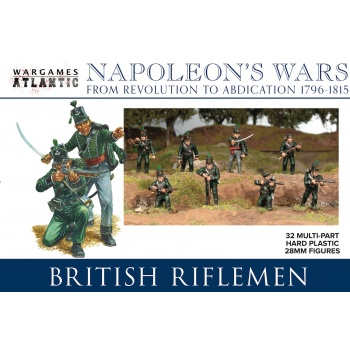 Napoleon's Wars - British Riflemen - EN