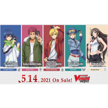 Cardfight!! Vanguard overDress - Starter Deck Display 3: Tohya Ebata - Apex Ruler (8 Decks) - EN