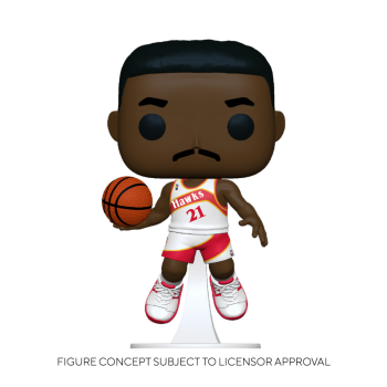 Funko POP! NBA: Legends - Dominique Wilkins​​ (Hawks Home) Vinyl Figure 10cm