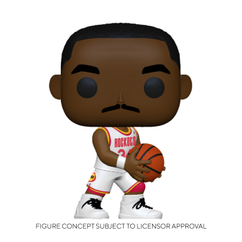 Funko POP! NBA: Legends - Hakeem Olajuwon (Rockets Home) Vinyl Figure 10cm