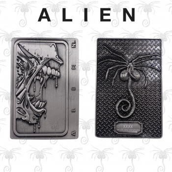 Alien Xenomorph Antique Silver Collectible