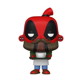 Funko POP! Deadpool 30th - Coffee Barista Vinyl Figure 10cm