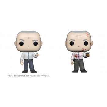 Funko POP! The Office - Creed w/ Bloody Chase Vinyl Figure 10cm Assortment (5+1 chase figure)