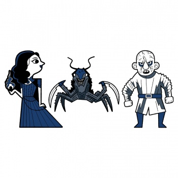 Netflix: The Witcher Evil Is Evil Monsters 3-Pack Pin Set