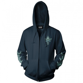 World of Warcraft Shadowlands Queen of Destruction Zip-Up Hoodie