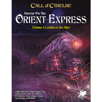 Call of Cthulhu RPG - Horror on the Orient Express - EN