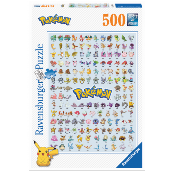 Ravensburger - Pokémon 500pc