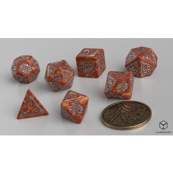 The Witcher Dice Set Geralt - The Monster Slayer