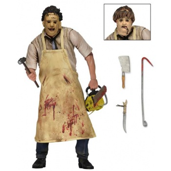 Texas Chainsaw Massacre 40th Anniversary - Leatherface Ultimate Deluxe Action Figure 18cm