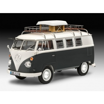 VW T1 Camper (1:24) - EN/DE/FR/NL/ES/IT