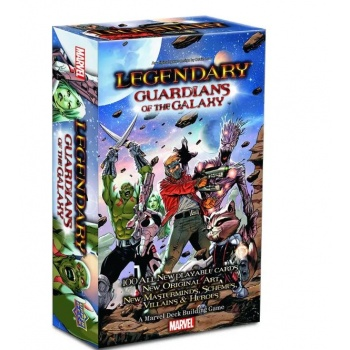 Legendary: A Marvel Deck Building Game - Guardians of the Galaxy Expansion - EN