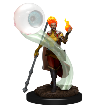 D&D Icons of the Realms Premium Figures: Fire Genasi Wizard Female (6 Units)