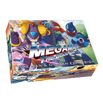 Mega Man Board Game - Time Man and Oil Man Expansion - EN