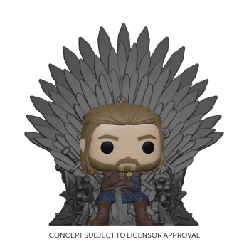 Funko POP! Deluxe Game of Thrones - Ned Stark on Throne Vinyl Figure
