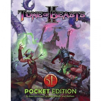 Tome of Beasts II Pocket Edition for 5th Edition - EN