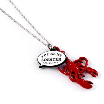 Friends - You're my lobster Charm necklace