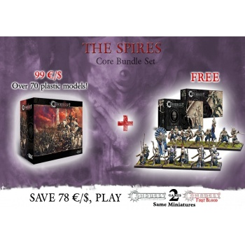 Conquest: Core Box with Vanguard Clones and Marksman Clones Bundle - EN