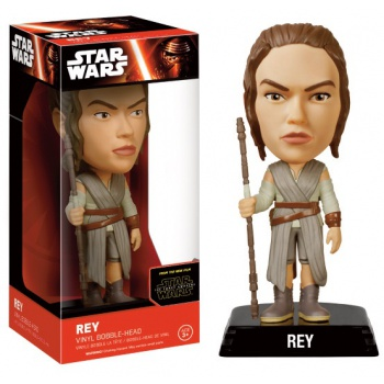 Funko Wacky Wobblers Star Wars Episode VII The Force Awakens - Rey Bobble Head 15cm