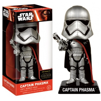 Funko Wacky Wobblers Star Wars Episode VII The Force Awakens - Captain Phasma Bobble Head 15cm