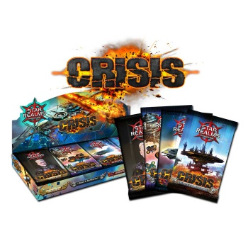 Star Realms Deckbuilding Game - Crisis Expansion Display (24 Packs) - DE