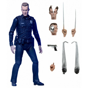 Terminator 2 - T-1000 25th Anniversary Ultimate Action Figure 18cm