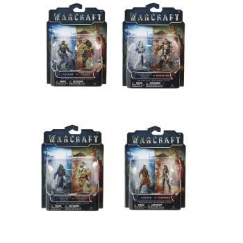 Warcraft The Movie - Mini Action Figures 2 Packs Assortment 1 (12)