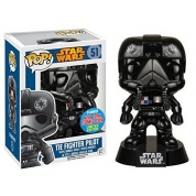 Funko POP! Star Wars - Black Chrome Tie-Fighter Pilot NYCC 2015 - Vinyl Figure 10cm Limited Ed.