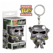 Funko Pocket POP! Keychain - Fallout: Power Armor - Vinyl Figure 4cm