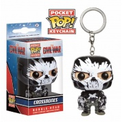 Funko Pocket POP! Keychain - Captain America III: Civil War: Crossbones - Vinyl Figure 4cm