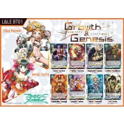 Luck & Logic - Booster Display: Growth & Genesis - (20 Packs) - EN