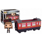 Funko POP Rides! - Hogwarts Express Traincar with Hermione - Vinyl Figure Set 12cm/15cm