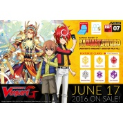 Cardfight!! Vanguard G - Glorious Bravery of Radiant Sword - Booster Display (30 Packs) - EN
