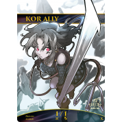 Tokens for MTG - 1/1 Kor Ally (10 pcs)