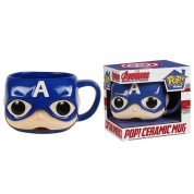 Funko POP! Homewares - Marvel Mugs - Captain America Ceramic Mug