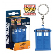 Funko Pocket POP! Keychain - Doctor Who Tardis Vinyl Figure 4cm