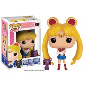 Funko POP! Animation Sailor Moon - Sailor Moon & Luna Vinyl Figure 10cm