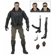 Terminator - T-800 Police Station Assault (Motorcycle Jacket) Ultimate Action Figure 18cm