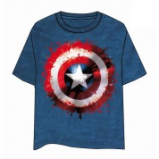 Captain America Shield T-Shirt - Size L
