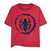 Spiderman Logo Red T-Shirt - Size M