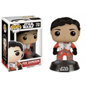 Funko POP! Star Wars Episode VII The Force Awakens - Poe Dameron without helmet Vinyl Figure 10cm limited