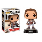 Funko POP! Star Wars Episode VII The Force Awakens - Rey Final Scene Bobble Head 10cm limited