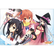 Bushiroad Play Mat - Weiß/Schwarz - Rubber Playmat Vol.49 (Sabbat of the Witch)