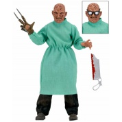Nightmare on Elm Street Part 4 Dream Masters - Freddy Surgeon Retro Closed Doll Action Figure 20cm