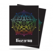 UP - Deck Protector Sleeves - Force of Will - Magic Circle (65 Sleeves)