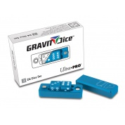 UP - Gravity Dice D6 - Cobalt - 2 Dice Set