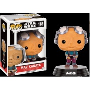 Funko POP! Star Wars Episode VII The Force Awakens - Maz Kanata No Glasses Bobble Head 10cm limited
